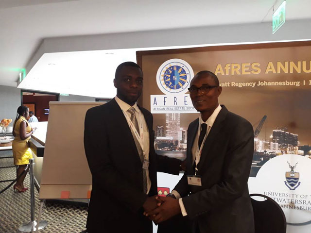 Hudders Field Property Agency at the 2017 African Real Estate Society Conference